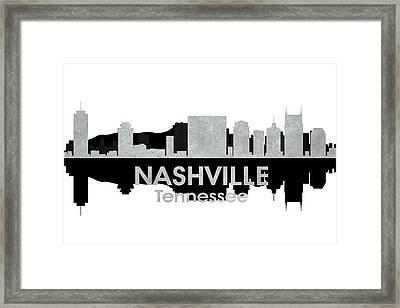Nashville Tn 4 Framed Print by Angelina Vick