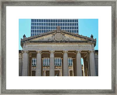 Nashville War Memorial Auditorium Framed Print by Dan Sproul