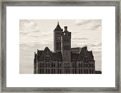Nashville's Union Station Framed Print by Dan Sproul