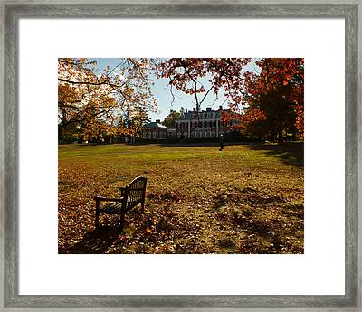 Framed Print featuring the photograph Nassau County Museum Of Art by Jose Oquendo