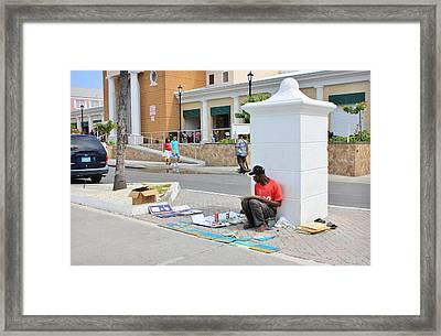 Nassau Street Artist Framed Print by Iryna Goodall