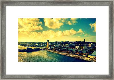Nassau The Bahamas Framed Print