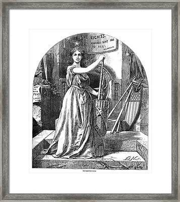 Nast Reconstruction, 1868 Framed Print by Granger