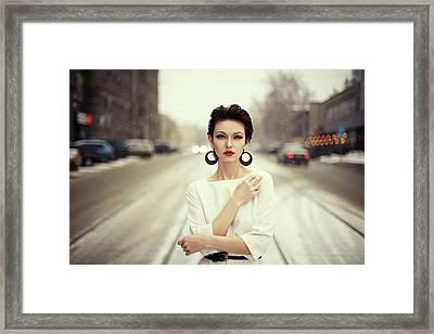 Nastya Framed Print