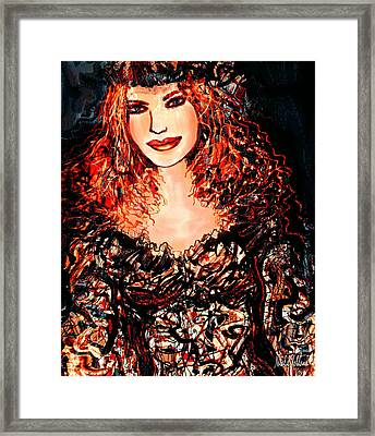 Natalie Framed Print by Natalie Holland