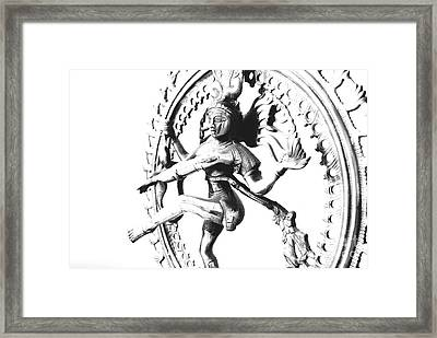 Nataraj Framed Print by Vineesh Edakkara