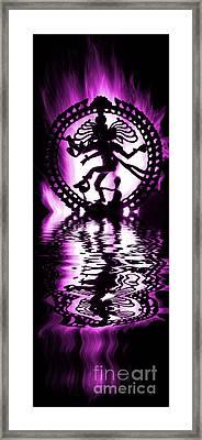 Nataraja The Lord Of Dance Framed Print