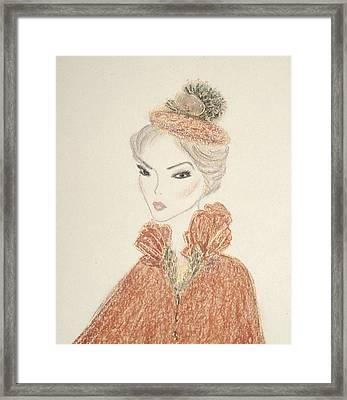 Natasha Framed Print by Christine Corretti