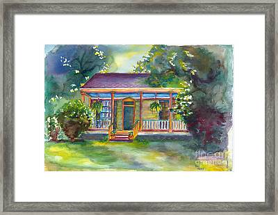 Natches State Cottage Framed Print