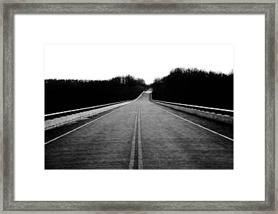 Natchez Trace Parkway  Framed Print by Krista Sidwell