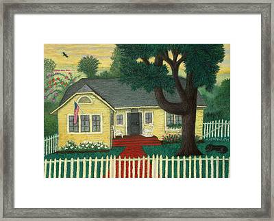 Nate's Place Framed Print