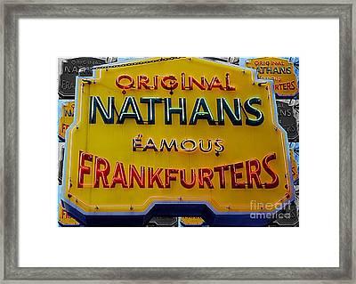 Nathans  Framed Print