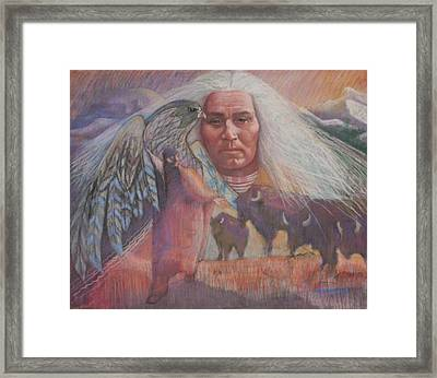 Nation Of Peace Framed Print