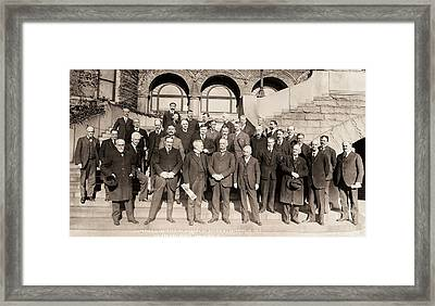 National Academy Of Sciences Framed Print by American Philosophical Society