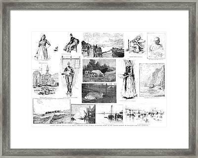 National Academy Show Framed Print by Granger