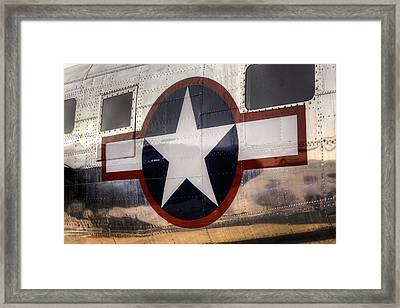 National Aircraft Insignia Framed Print