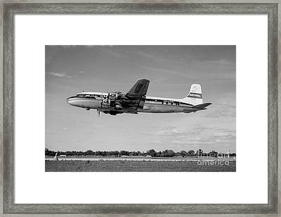 National Airlines Nal Douglas Dc-6 Framed Print by Wernher Krutein