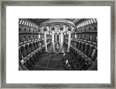 National Building Museum Framed Print by Mitch Cat