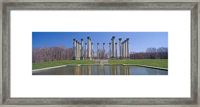 National Capitol Columns, National Framed Print by Panoramic Images