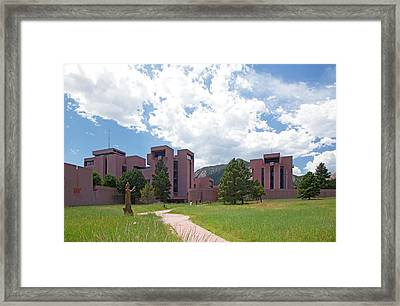 National Center For Atmospheric Research Framed Print by Jim West