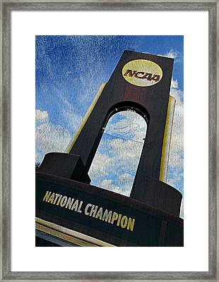 National Champions Framed Print by Stephen Stookey