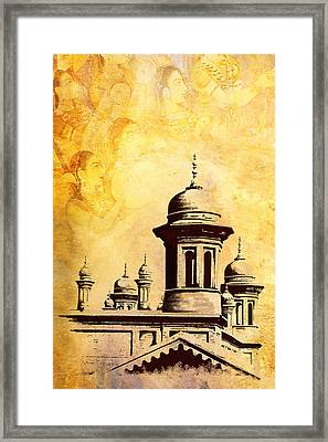 National College Of Arts Lahore Framed Print by Catf