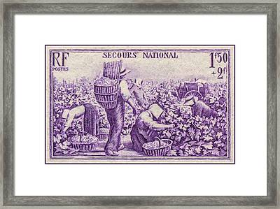 National Emergency Stamp 1 Framed Print by Lanjee Chee