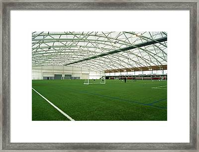National Football Centre Framed Print by Mark Williamson