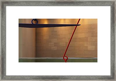 National Gallery Of Art Abstract #2 Framed Print by Stuart Litoff