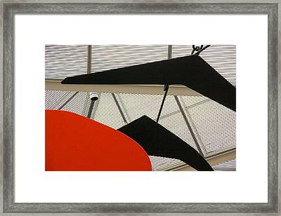 National Gallery Of Art Abstract Framed Print by Stuart Litoff