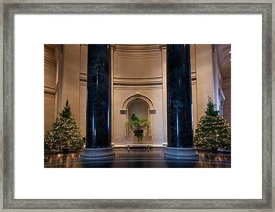 National Gallery Of Art Christmas Framed Print