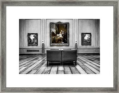 National Gallery Of Art Interiour 1 Framed Print by Frank Verreyken