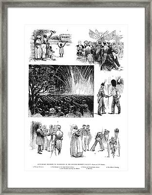 National Guard Anniversary Framed Print by Granger