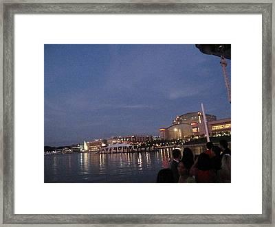 National Harbor - 121223 Framed Print by DC Photographer