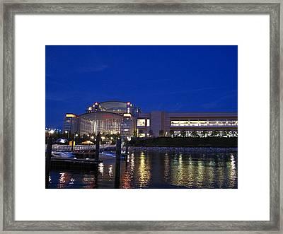 National Harbor - 121227 Framed Print by DC Photographer