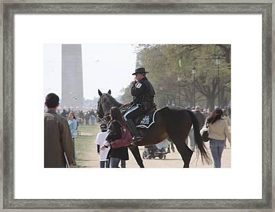 National Mall - Washington Dc - 01136 Framed Print by DC Photographer