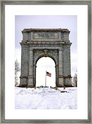 National Memorial Arch Framed Print