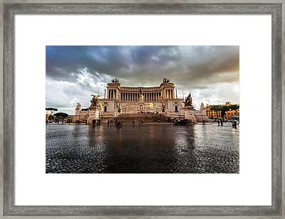National Monument Honouring Victor Framed Print