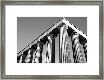 National Monument Framed Print