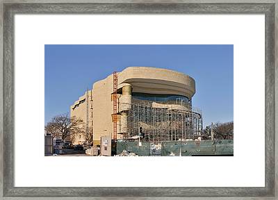 National Museum Of The American Indian - Washington Dc - 01131 Framed Print