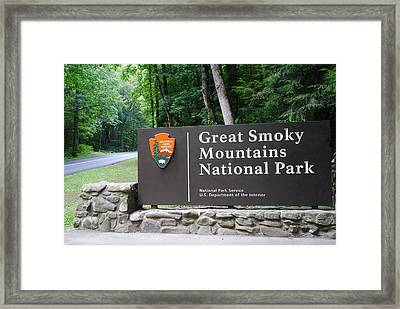 National Park Framed Print by Frozen in Time Fine Art Photography