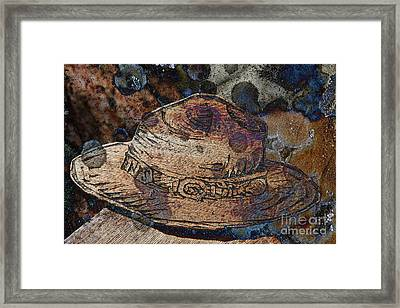 National Park Service Ranger Hat Framed Print