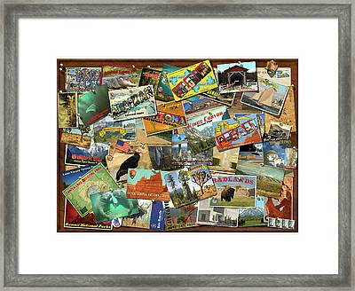 National Parks Framed Print by Garry Walton