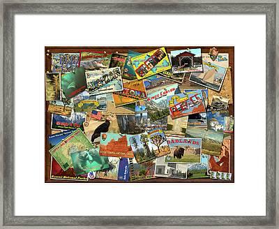 National Parks Framed Print by Garry Walton