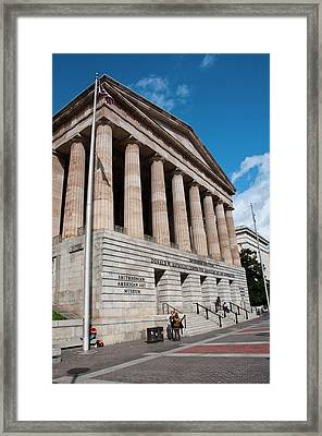 National Portrait Gallery, Smithsonian Framed Print by Lee Foster