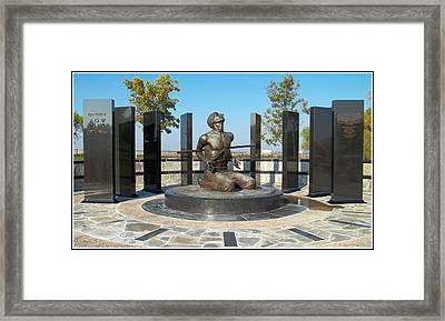 National Pow - M I A Memorial  Framed Print by Glenn McCarthy Art and Photography