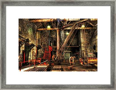 National Slate Museum Framed Print
