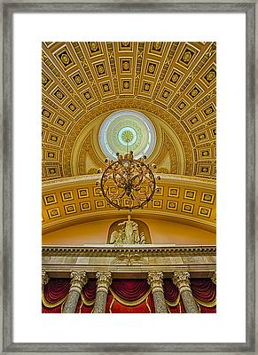 National Statuary Hall Framed Print by Susan Candelario