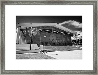 National Theatre Of Catalonia Barcelona Catalonia Spain Framed Print
