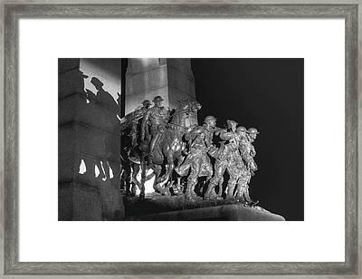 National War Memorial  Ottawa, Ontario Framed Print